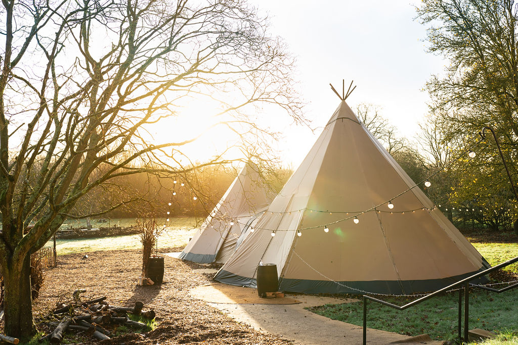 Winter Tipi at Birch